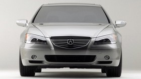 acura, rl, concept, silver metallic, front view, style, acura, concept car, car - wallpapers, picture