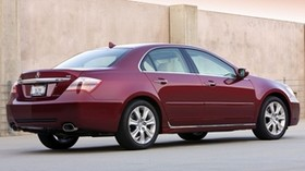 acura, rl, red, side view, sedan, style, acura, auto - wallpapers, picture