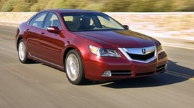acura, rl, red, front view, acura, auto, style, movement, speed, nature - wallpapers, picture