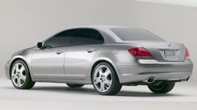 acura, rl, metallic gray, side view, style, acura, auto, concept - wallpapers, picture