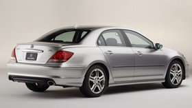 acura, rl, metallic gray, rear view, style, acura, car - wallpapers, picture