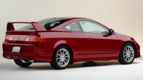 acura, rsx, 2003, red, rear view, style, acura, car - wallpapers, picture