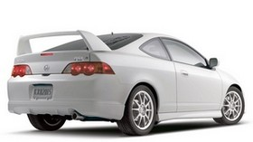 acura, rsx, 2004, white, rear view, style, auto, acura - wallpapers, picture
