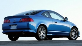 acura, rsx, 2005, blue, side view, style, acura, auto, asphalt - wallpapers, picture