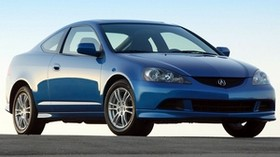 acura, rsx, 2005, blue, front view, style, acura, auto, sky - wallpapers, picture