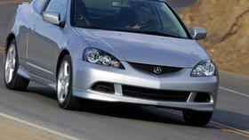 acura, rsx, silver metallic, front view, style, auto, acura, road - wallpapers, picture