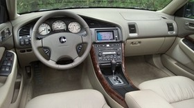 acura, tl, 2002, interior, interior, steering wheel, speedometer - wallpapers, picture
