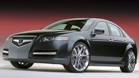 acura, tl, 2003, black, front view, concept car, style, auto, acura - wallpapers, picture