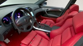 acura, tl, 2003, concept car, salon, interior, steering wheel, speedometer - wallpapers, picture