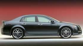 acura, tl, 2003, gray, side view, style, concept car, auto - wallpapers, picture