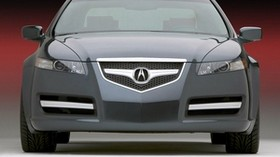 acura, tl, 2003, gray, front view, style, concept car, auto, acura - wallpapers, picture