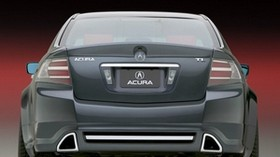 acura, tl, 2003, gray, rear view, style, concept car, auto, acura - wallpapers, picture