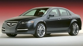 acura, tl, 2003, blue, side view, style, concept car, auto - wallpapers, picture