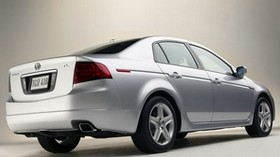 acura, tl, 2004, white metallic, side view, style, auto, acura - wallpapers, picture