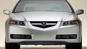 acura, tl, 2004, white metallic, front view, style, auto - wallpapers, picture