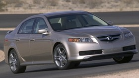 acura, tl, 2004, beige metallic, side view, style, auto, acura, nature, asphalt - wallpapers, picture