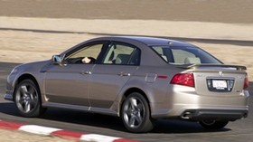 acura, tl, 2004, beige metallic, side view, style, auto, acura, speed, turn, track - wallpapers, picture