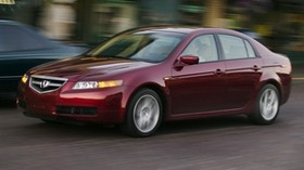 acura, tl, 2004, red, side view, style, acura, auto, speed, lights, street - wallpapers, picture