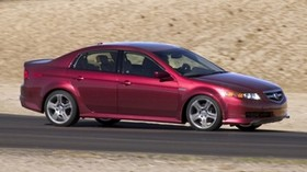 acura, tl, 2004, magenta metallic, side view, style, auto, speed, asphalt - wallpapers, picture