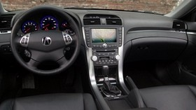 acura, tl, 2004, salon, interior, steering wheel, speedometer - wallpapers, picture