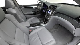 acura, tl, 2004, salon, gray, interior, steering wheel - wallpapers, picture