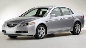 acura, tl, 2004, silver metallic, side view, style, acura, auto - wallpapers, picture