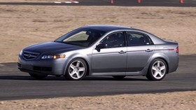 acura, tl, 2004, silver metallic, side view, style, auto, acura, asphalt - wallpapers, picture