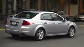 acura, tl, 2004, silver metallic, side view, style, auto, acura, street, building, speed, asphalt - wallpapers, picture