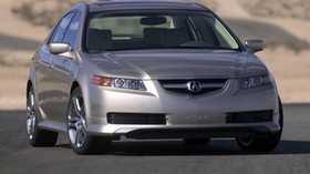 acura, tl, 2004, silver metallic, front view, style, auto, acura - wallpapers, picture