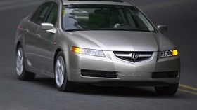 acura, tl, 2004, silver metallic, front view, style, auto, acura, asphalt - wallpapers, picture