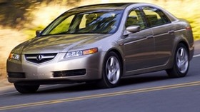acura, tl, 2004, metallic gray, side view, style, acura, auto, speed, nature - wallpapers, picture