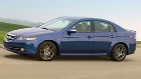 acura, tl, 2007, blue, side view, style, auto, acura, speed, nature - wallpapers, picture