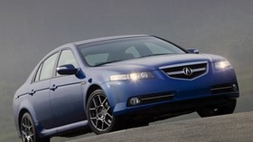 acura, tl, 2007, blue, front view, style, auto, acura, asphalt - wallpapers, picture