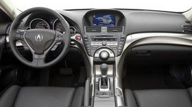 acura, tl, 2008, salon, interior, steering wheel, speedometer - wallpapers, picture