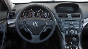 acura, tl, 2011, salon, interior, steering wheel, speedometer - wallpapers, picture