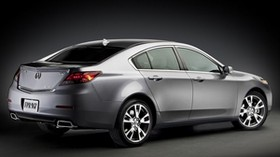 acura, tl, 2011, metallic gray, sedan, side view, style, auto, acura - wallpapers, picture