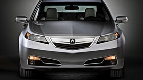 acura, tl, 2011, metallic gray, front view, style, auto, acura - wallpapers, picture