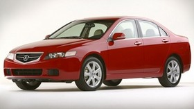 acura, tsx, 2003, red, side view, style, auto, acura - wallpapers, picture