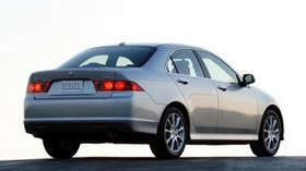 acura, tsx, 2006, metallic gray, rear view, style, auto, acura, asphalt - wallpapers, picture