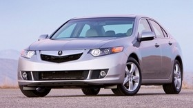 acura, tsx, 2008, silver metallic, front view, style, auto, acura, sky - wallpapers, picture