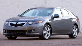 acura, tsx, 2008, gray, front view, style, auto, acura, asphalt - wallpapers, picture