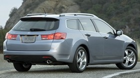 acura, tsx, 2010, metallic blue, rear view, style, auto, acura, nature, asphalt - wallpapers, picture