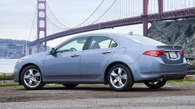 acura, tsx, 2010, blue, side view, style, auto, acura, bridge - wallpapers, picture