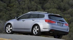 acura, tsx, 2010, blue, side view, style, auto, acura, nature, trees, asphalt - wallpapers, picture