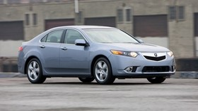 acura, tsx, 2010, blue, side view, style, auto, acura, building, speed, asphalt - wallpapers, picture