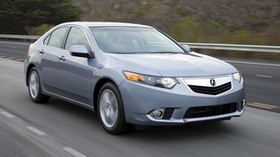 acura, tsx, 2010, blue, front view, style, auto, acura, speed, nature - wallpapers, picture
