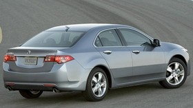 acura, tsx, 2010, metallic gray, side view, style, auto, acura, asphalt - wallpapers, picture