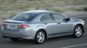acura, tsx, 2010, metallic gray, side view, style, auto, acura, speed, nature, asphalt - wallpapers, picture