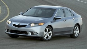 acura, tsx, 2010, metallic gray, front view, style, auto, acura, asphalt - wallpapers, picture