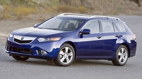 acura, tsx, 2010, blue, side view, style, auto, acura, nature, grass, asphalt - wallpapers, picture
